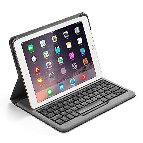Anker Bluetooth Folio Keyboard Case for iPad Air 2 - Smart Case with Auto Sleep / Wake, Comfortable Keys and 6-Month Battery Life Between Charges (Not compatible with iPad 9.7 inch/iPad Air) Tajori