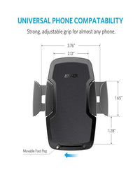 Anker Dashboard & WindShield Car Mount - Black - NEW PACKAGING Tajori