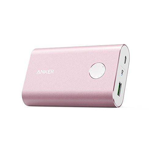 Anker PowerCore+ 10050 Premium Aluminum Portable Charger with Qualcomm Quick Charge 3.0, 10050mAh Power Bank with PowerIQ Technology Tajori