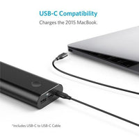Anker Powercore + 20100 Usb-C PowerBank Black - A1371H11 Tajori