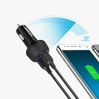 Anker PowerDrive Speed 2 2 x Quick car Charger Tajori