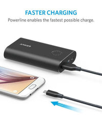 Anker PowerLine Micro Cable 3ft - Black Tajori