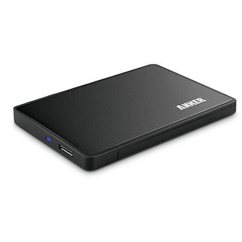 Anker USB 3.0 2.5 inch External Enclosure Case for SATA HDD and SSD Tajori