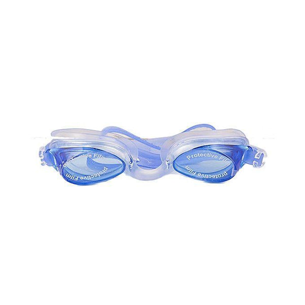 Antifog Swimming Goggles With Earplugs - Blue Tajori