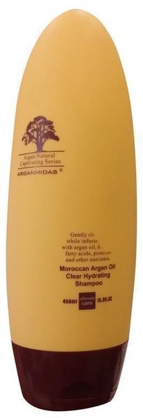 Arganmidas Moroccan Argan Oil Clear Hydrating Shampoo 450ML Tajori