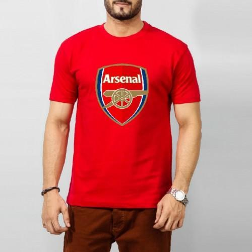 Arsenal Printed round neck t-shirt for men Tajori