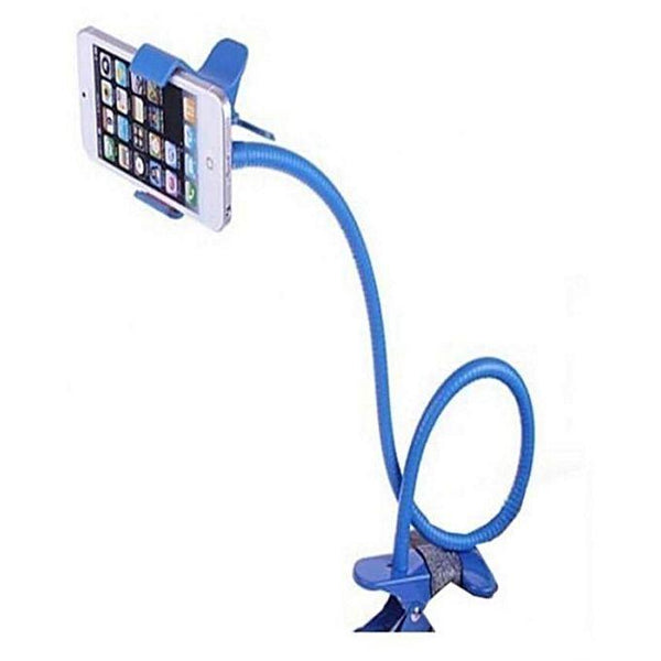 ATO Flexible metal Mobile Stand - Blue Tajori