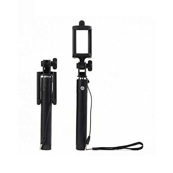 ATO Mini Wired Selfie Stick - Black Tajori
