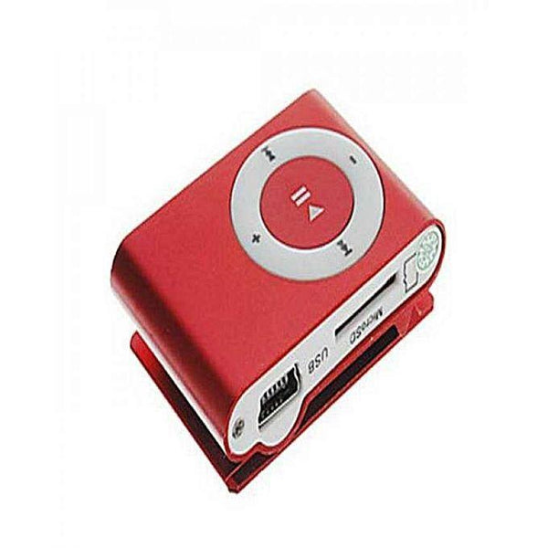 ATO Shufel MP3 Player - Red Tajori