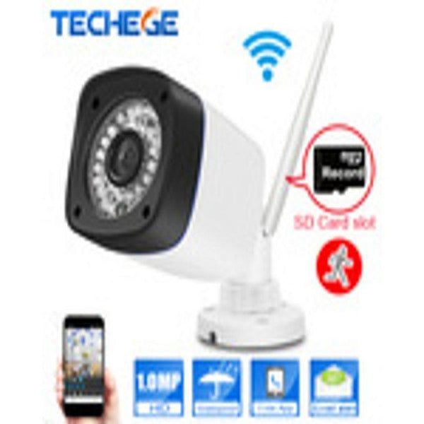 Aztech 720P WIFI IP Camera Night Vision Outdoor - TF Card Slot CCTV Camera Motion Detection Tajori