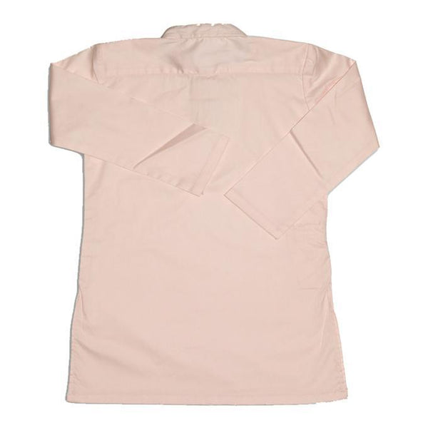 Baby Pink Stretchable Cotton Kurta for Boys Tajori