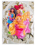 Barbie 6D Stickers Sheet Tajori