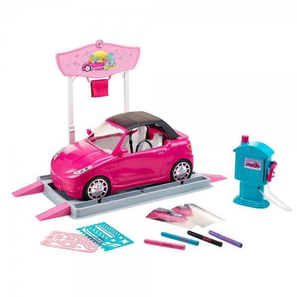 Barbie Car Wash Design Studio Tajori