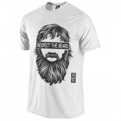 Beard man printed t-shirt for men Tajori