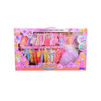 Beautiful Princess Doll Set With 23 Changeable Dresses - 25x15 Inch Tajori
