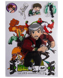 Ben 10 5D Stickers Sheet Tajori