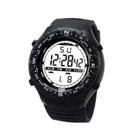 Black Multifunctional Sport Digital Watch For Men Tajori