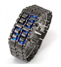 Blue Led Faceless Watch Tajori