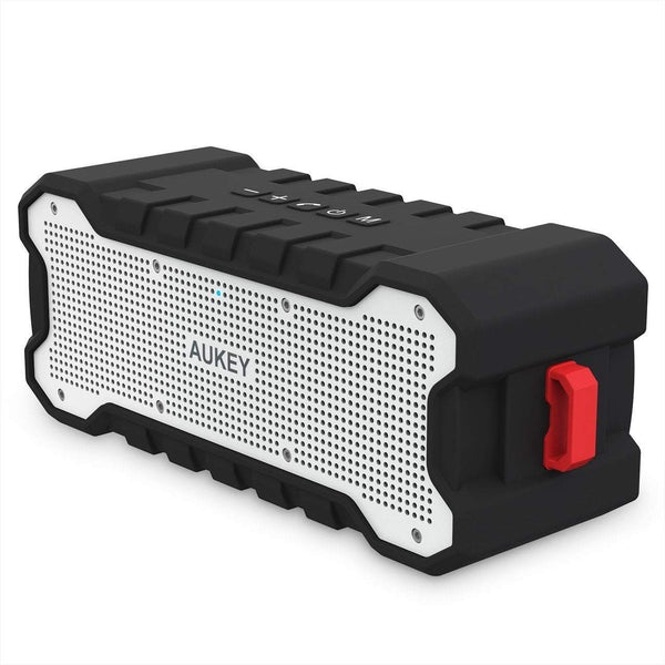 Bluetooth Speaker with 30-Hour Playtime, Enhanced Bass, Water Resistant Wireless Speaker for iPhone, iPad, Samsung - SK-M12 Tajori