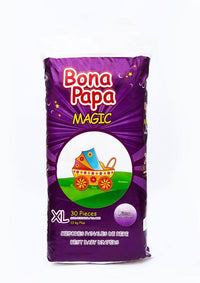 Bonapapa Baby Diaper - XL (Size 5/Belt/13KG Plus/30Pcs) Tajori