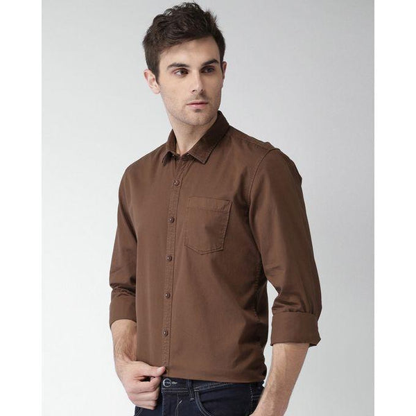 Brown Casual Shirts For Men