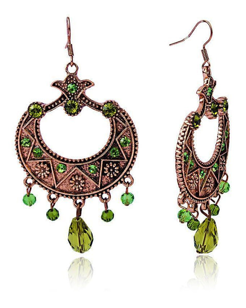 Brown Earings-JP-985 Tajori
