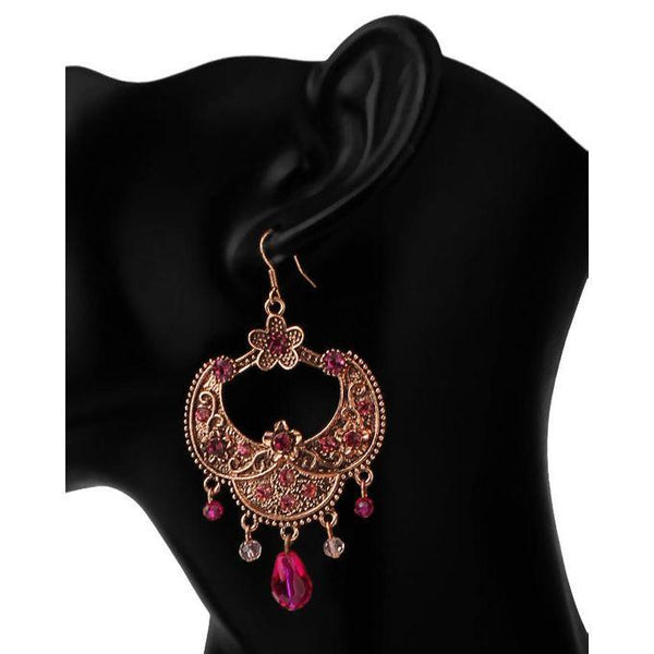 Brown Earings-JP-988 Tajori