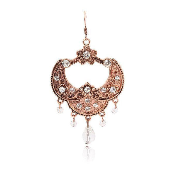 Brown-Stylish Earring 993 Tajori