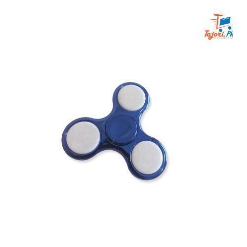 Chrome Plastic Led Fidget Spinner Tajori