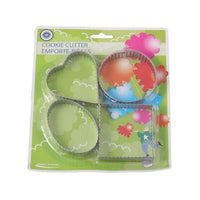 Cookie Cutter with 4 Shapes - Crinkled Cut Tajori