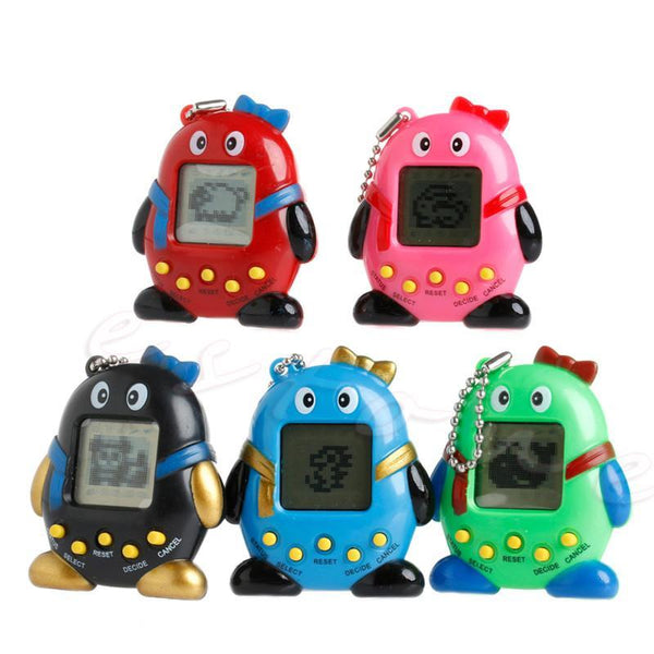 Digital Pet Tamagotchi Penguins E-pet Gift Toy With Handheld Game Machine Tajori