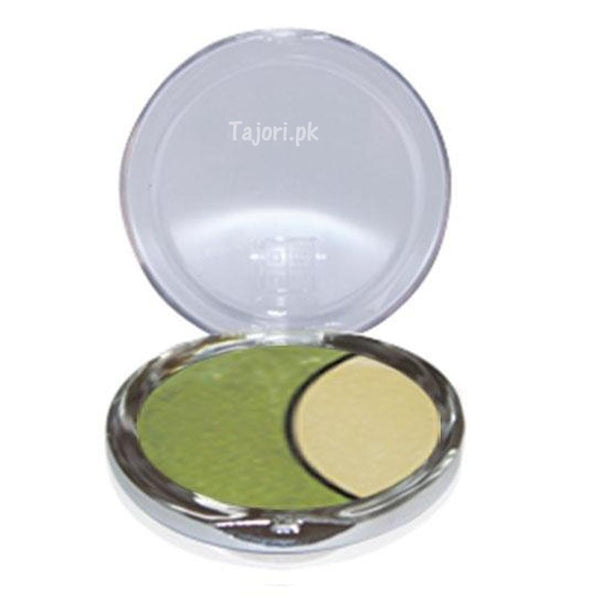 Dmgm Studio Perfection Duo Eye Shadow Forest Green / Gold Frost 40 Tajori
