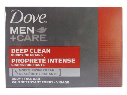 Dove Men Care Deep Clean Body and Face Bar 120 Grams Tajori