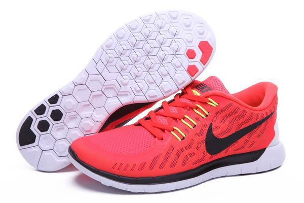Free Run 5.0 2 Men Red and White Shoes Tajori