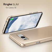 Galaxy S8 Plus Ringke Slim Hard Back Cover - Gold Tajori
