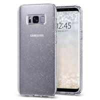 Galaxy S8 Plus Spigen Liquid Crystal Glitter Case - Crystal Quartz Tajori