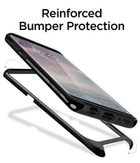Galaxy S8 Plus Spigen Neo Hybrid Dual Layer Case - Shiny Black Tajori