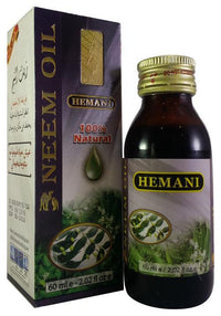 Hemani Herbal Neem Oil 60ml Tajori