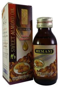 Hemani Sweet Almond Oil 60 ML Tajori