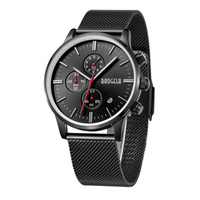 High Quality Stainless Steel Quartz Sport Wrist Watch Tajori