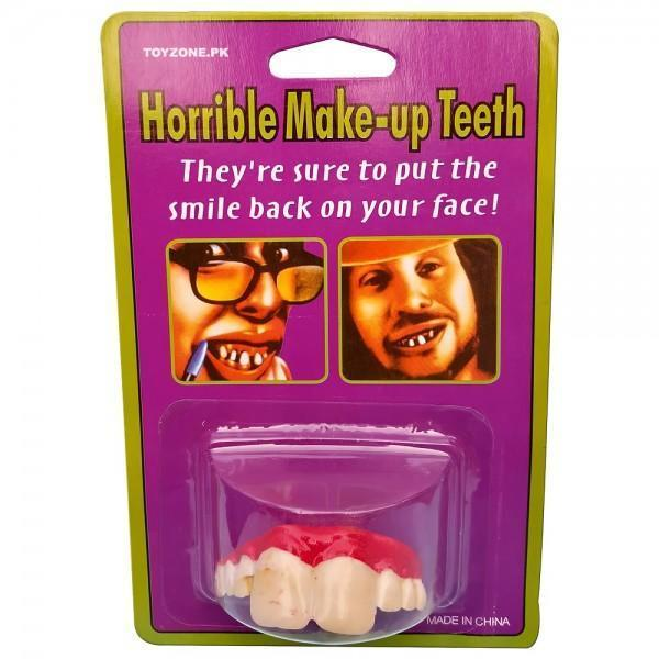 Horrible Make-Up Teeth Tajori