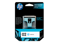 HP CARTRIDGE 02 C8774WA LIGHT CYAN FOR INKJET PRINTER Tajori