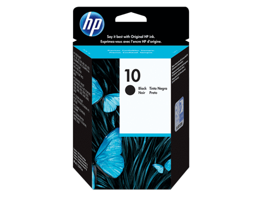 HP CARTRIDGE 10 C4844A BLACK FOR INKJET PRINTER Tajori