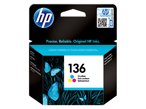 HP CARTRIDGE 136 C9361HE COLOR FOR INKJET PRINTER Tajori