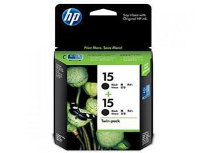 HP CARTRIDGE 15+15 TWIN/COMBO C6653BN BLACK FOR INKJET PRINTER Tajori