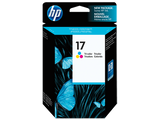 HP CARTRIDGE 17 C6625A COLOR FOR INKJET PRINTER Tajori