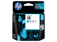 HP CARTRIDGE 18 C4937A CYAN FOR INKJET PRINTER Tajori