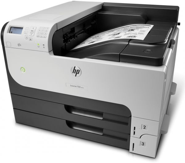HP LASERJET BLACK & WHITE PRINTER M712DN Tajori