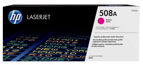 HP TONER 508A CF363A MAGENTA FOR LASERJET PRINTER Tajori