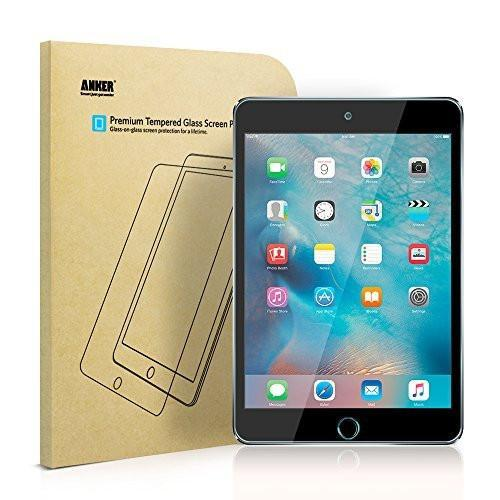 iPad mini 4 Screen Protector -Anker Premium Tempered-Glass Tablet Screen Protector with Retina Display (Not compatible with iPad mini / 2 / 3) w/ Tajori
